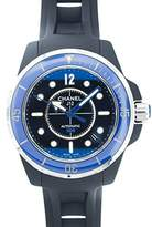 Chanel Men's H2559 J12 Rubber Strap Watch
