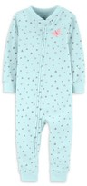 Carter's Little Planet Organic By Little Planet Organic by Baby Girl One-Piece Footless Snug Fit Organic Cotton Sleeper Pajamas