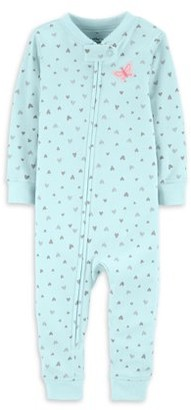 Carter's Little Planet Organic by Baby Girl One-Piece Footless Snug Fit Organic Cotton Sleeper Pajamas