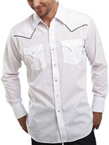 JCPenney Ely Cattleman Piped-Yoke Snap Shirt