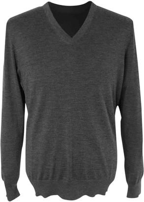 Ermenegildo Zegna Anthracite Cashmere Knitwear & Sweatshirts
