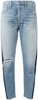 Citizens of Humanity Liya faded high rise jeans - women - Cotton/Lyocell - 24