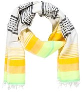 Lemlem Striped Frayed Scarf