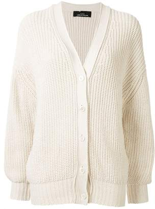 Comme des Garcons Pre-Owned chunky knit buttoned cardigan