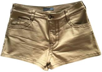 Prada Beige Cotton - elasthane Shorts