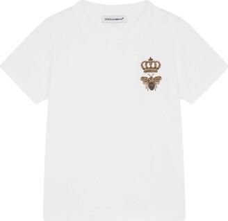 Dolce & Gabbana Kids Embroidered T-Shirt (3-30 Months)