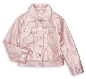 Urban Republic Girl's Metallic Jacket