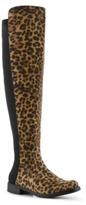 Unisa Gillean Leopard Over The Knee Boot