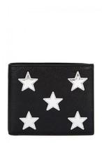 Saint Laurent Black Grained Leather Wallet