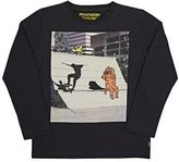 Munster Men's Skateboarder Jersey Long-Sleeve T-Shirt-BLACK