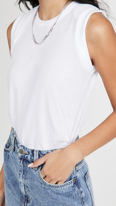 Chaser Cloud Cropped Muscle Tank
