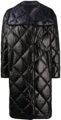 Fay Quilted Midi Coat