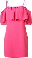 Trina Turk spaghetti strap flutter dress - women - Polyester/Spandex/Elastane - 2