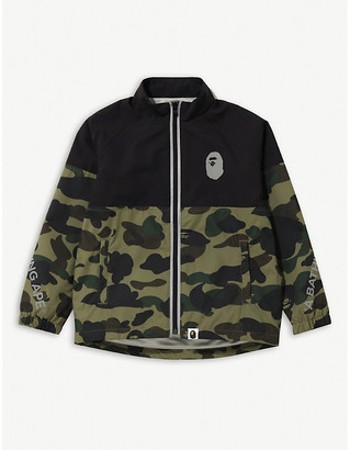 A Bathing Ape 1st Camo Cycling woven jacket 4-8 years