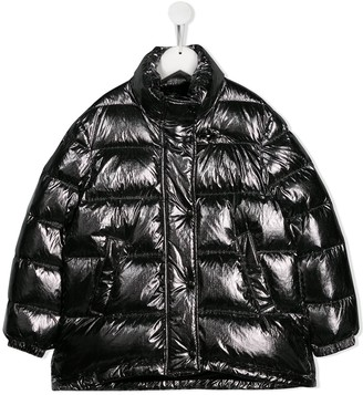 Fay Kids Metallic Padded Jacket