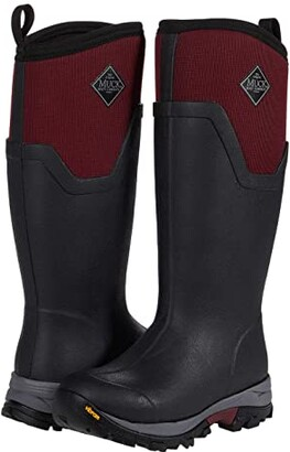 The Original Muck Boot Company Arctic Ice Tall (Black/Windsor Wine) Women's Shoes