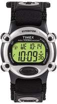 Timex Men's Expedition® Digital Watch with Fast Wrap® Nylon Strap - Black T48061JT
