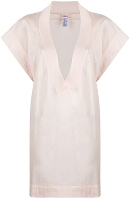 Eres Renee V-neck mini dress