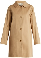 A.P.C. Dolly cotton-blend gabardine coat