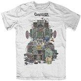 FEA Men's Gorillaz Multi Boomboxes Soft T-Shirt