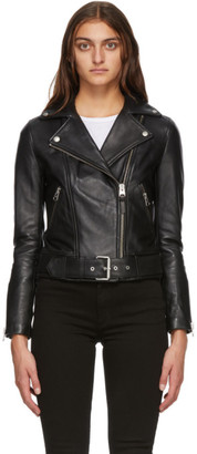 Mackage Black Kylie Leather Jacket