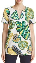 Lafayette 148 New York Moria Printed Blouse