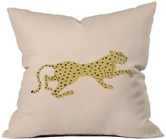 Deny Designs Megan Galante Le Gupard Square Throw Pillow