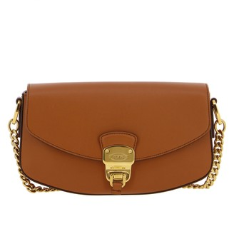 Tod's Shoulder Bag In Genuine Leather