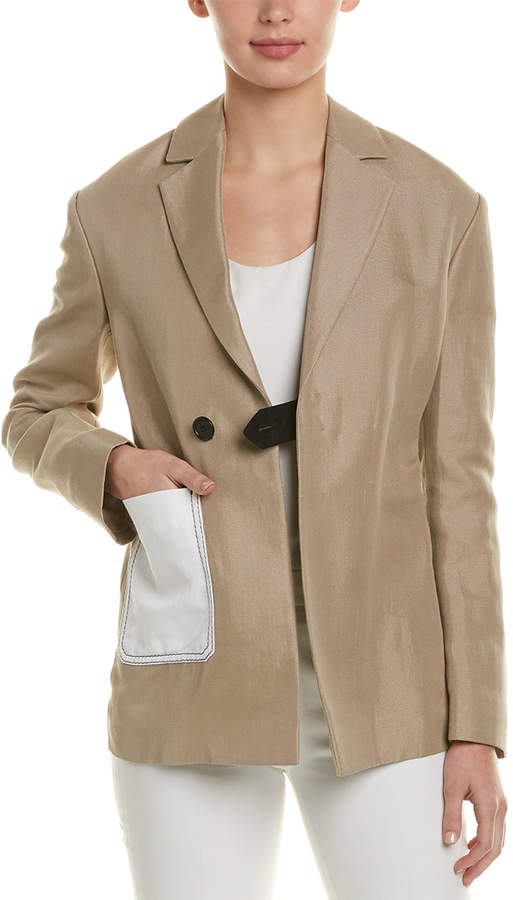 M Missoni Linen-Blend Jacket