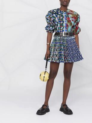 Chopova Lowena Plaid-Check Print Dress