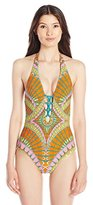 Trina Turk Women's Capri One Piece Swimsuit