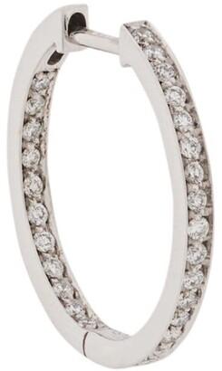 VANRYCKE Diamond Embellished Hoop Earring