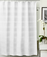 Hotel Collection Woven Pleat Shower Curtain