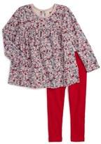 Tea Collection Toddler Girl's Ikebana Top & Leggings Set