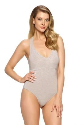 Felina Women's Loungewear Body Zone Modal Bodysuit
