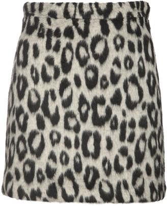The Andamane Bertha Jacquard Flannel Mini Skirt