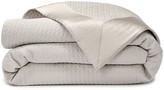 HUGO BOSS Dashes Silk Border 350 Thread Count Pumice Stone Comforter - Queen