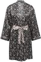 M&Co Floral print satin robe