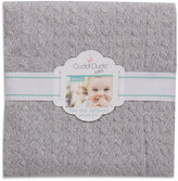Cuddl Duds Cable Knit Baby Blanket