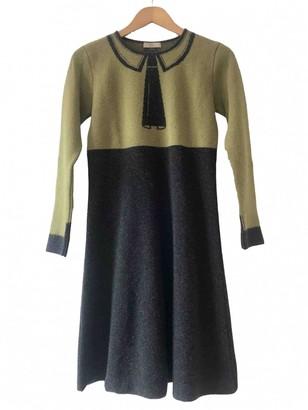 Orla Kiely Grey Wool Dress for Women