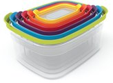 Joseph Joseph Nest Compact Storage Containers, Classic - Multi-Colour, 6 Piece Set