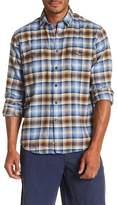 James Campbell Baxter Plaid Long Sleeve Regular Fit Shirt
