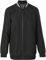 CK Calvin Klein embossed effect bomber jacket