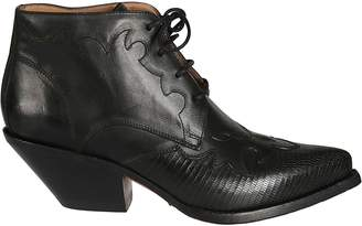 Buttero Elyse Lace-up Boots