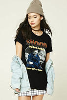 Forever 21 FOREVER 21+ Snoop Dogg Graphic Band Tee