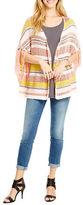 Jessica Simpson Rouge Cozy Poncho Cardigan