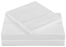 Charisma Solid Wrinkle-Free Sheet Set, Queen
