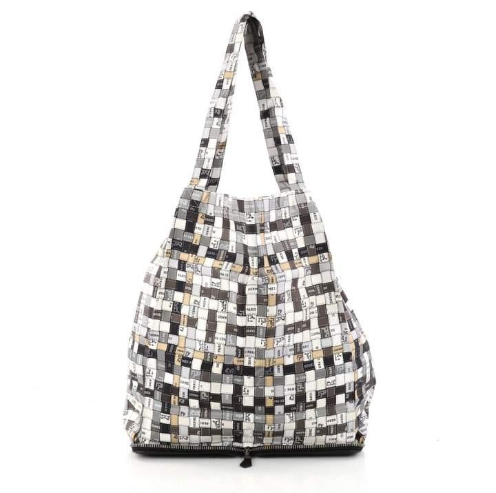 Hermes Silky Pop silk handbag
