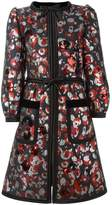 Marc Jacobs Warped Flower sequin coat