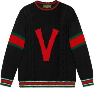 Gucci DIY unisex wool sweater